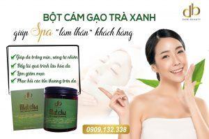 Công dụng, cách dùng bột cám gạo trà xanh dori hiệu quả nhất
