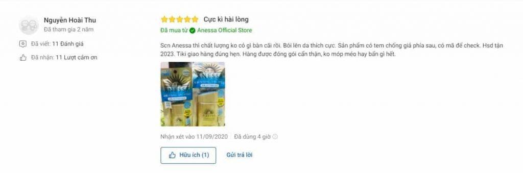 Nên mua dùng Anessa Gold Milk tại Tiki không