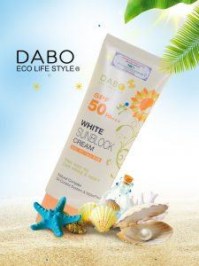 Review kem chống nắng dưỡng da Dabo White Sunblock Cream