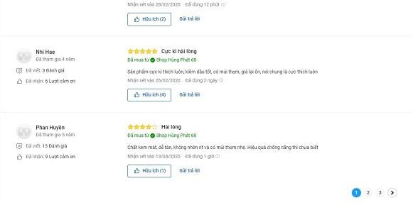 Đánh Giá Người Dùng Về DABO Aloe Stem Rich SPF50 PA+++ 2