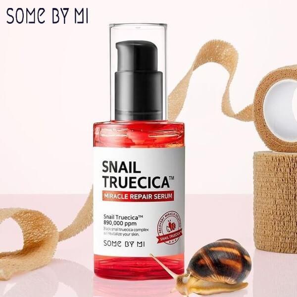 Review Serum Some By Mi Snail Truecica Miracle Repair