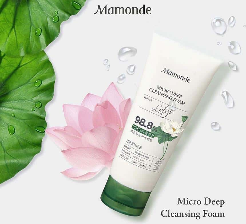 Review sữa rửa mặt Mamonde Micro Deep Cleansing